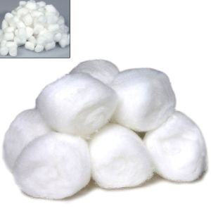100 PCs Multi Use Cotton Balls To Remove Make Up