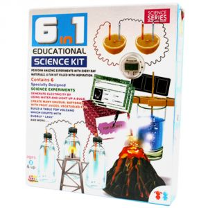 Educational Toys - 6 in 1 Science Kit Educational Toys Kids (Code - JM NR TY 110)