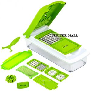 Potato Vegetable Chip Dicing Chipper Cutting Cutter Maker Slicer Chopper 02