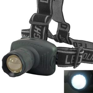Torches and flashlights - CREE LED Headlamp 160 Lumens 170m Flashlight Headlight Torch ZOOMABLE - 03