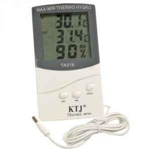 Digital Hygrometer Thermometer Humidity Meter Large LCD Display - 03