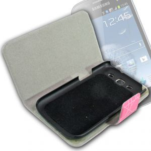 Leather Back Case Cover Flip Pouch For Samsung Galaxy S3 Siii I9300 - Fs06