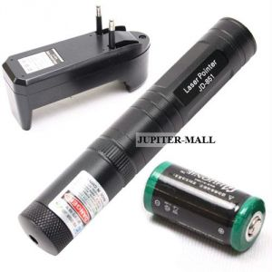 200mw Rechargeable Green Laser Pointer Party Pen Disco Light - 05