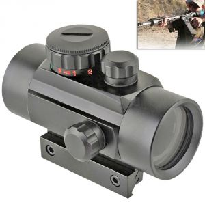 Telescopes - Tactical Hunting 1x30mm Red Green Dot Sight Scope 20mm Rail Mount Aimpoint