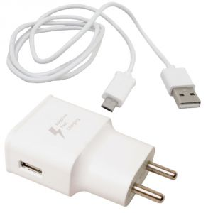 2 In 1 Mobile Phone Micro USB Travel Charger Adapter For Samsung - 05