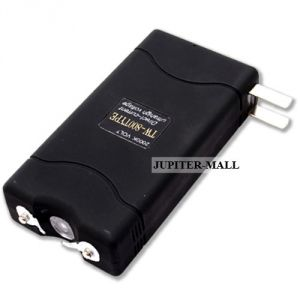Ladies Self Defense 5000kv Stun Gun With Torch Flashlight -06