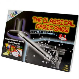 81 Magic Tricks Kit Educational Toys Kids 111