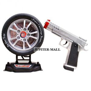 Battery Operated Toys - Shooter laser gun pistol shooting game Toy 78
