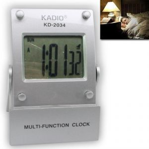 Digital LCD Alarm Table Desk Clock Timer Date Stopwatch - A11