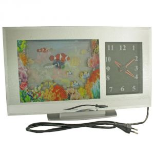Fashionable Table Wall Desk Night Clock Watches Without Alarm - 128