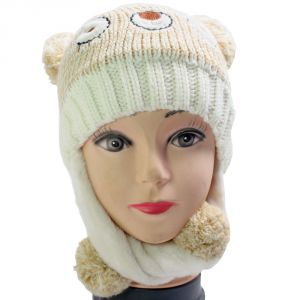 Free Size Winter Acrylic Woolen Hat Cap For Women Ladies - 141