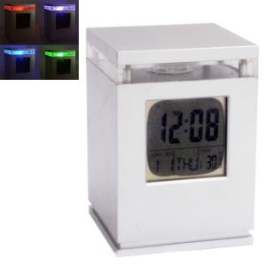 Big Digital LCD Alarm Calendar Thermometer Table Desk Clock (code - Al Ck 147)