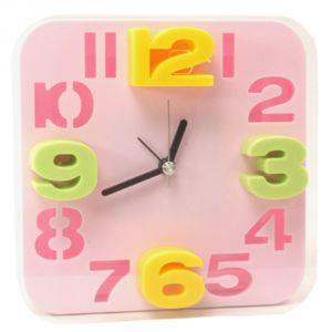 Exclusive Fashionable Table Desk Clock Watches With Alarm - 164
