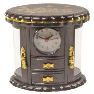 Exclusive Fashionable Table Desk Clock Watches With Alarm - 186