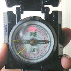 3 In 1 Military Hiking Camping Lens Lensatic Compass - 13
