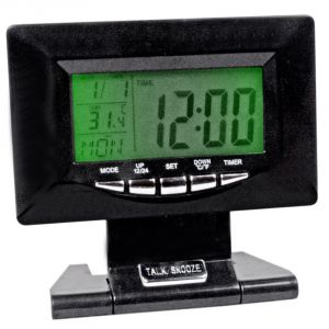 Digital LCD Alarm Table Desk Car Clock Stopwatch (code - Al Ck 236)
