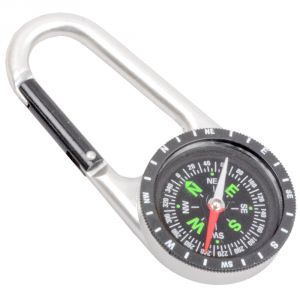 2 In 1 Multifunctional Outdoor Camping Hiking Travel Carabiner Mini Compass - 26