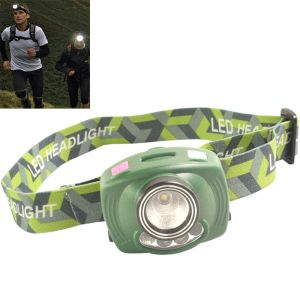Motion Pir Sensor LED Headlamp Headlight Lamp Light Torch Flashlight - 27