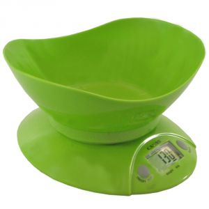 Digital Liquid Kitchen Diet Food Weight Scale 11lb 5kg With Bowl - 31