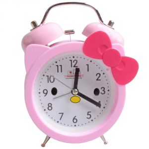 Clocks - Exclusive Fashionable Table Wall Desk Clock Watches With Alarm (Code - AL-CK-329)