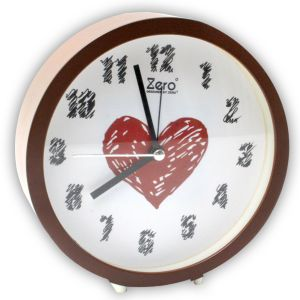 Fashionable Table Clock With Alarm - 38
