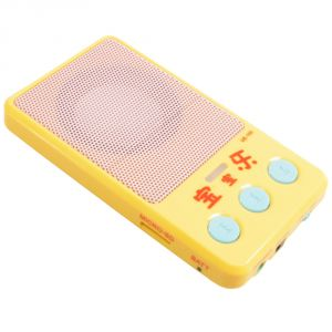 Rechargeable Mini Portable Wire Speaker MP3 Player Sound Box - 39