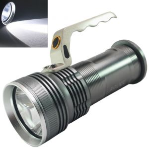 3mode Long Beam Cree Rechargeable LED Waterproof Flashlight Light Torch -39