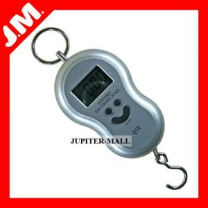 40kg Digital Fish Hook Hanging Weighing Scale - A