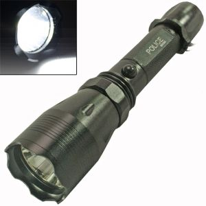 3mode Long Beam Cree Rechargeable LED Waterproof Flashlight Light Torch -42