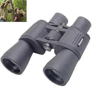 Bushnell 10x50 Powerful Prism Binocular Monocular Telescope Outdoor W Pouch - 47