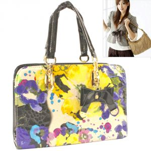 Leather Bag Womens Ladies Girls Side Hand Bags Handbag Purse - 61