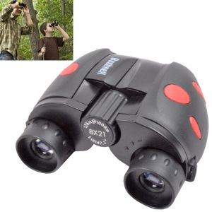Bushnell 8x21 Powerful Prism Binocular Monocular Telescope Outdoor W Pouch - 66