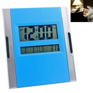 Digital Alarm Calendar Thermometer Table Desk Wall Clock Timer Stopwatch-81