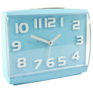 Exclusive Fashionable Table Wall Desk Clock Watches With Alarm & Light - 83