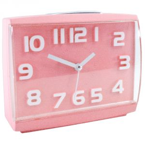 Exclusive Fashionable Table Wall Desk Clock Watches With Alarm & Light - 85