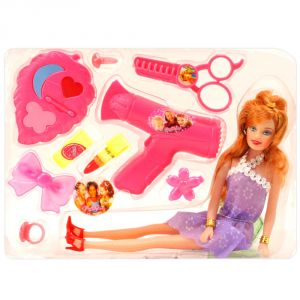 Barbie Doll Set With Beautiful Trendy Dresses Kids Toys Toy Baby Gift - 97