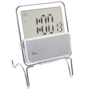 Digital LCD Alarm Table Desk Calendar Clock Timer Stopwatch - A27