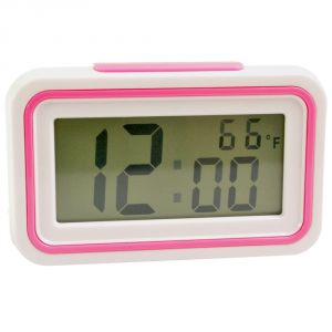 Digital LCD Alarm Table Desk Car Calendar Clock With Temperature - A29