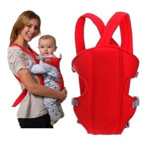 c67a3920773 Soft Adjustable 4-in-1 Baby Carrier With Comfortable Head Support And  Buckle Straps