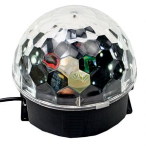 Disco Dj Laser Lighting Crystal Magic Ball Light Laser Rotating Stage Lamp (code - Bl Lt 05 A)