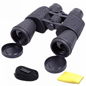 Waterproof Bushnell 50x50 Zoom 50x Prism Binocular Telescope Monocular With Pouch (code - Bn Cl 62 A)