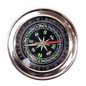 Jumbo Metal Military Magnetic Compass Fengshui Hiking Camping Office (code - Jm Cm Ps 03)