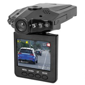 Car Video Accessories - HD Portable Car DVR Vehicle DV Camcorder Video Camera LCD Screen Recorder (Code - CR DR 01 A)