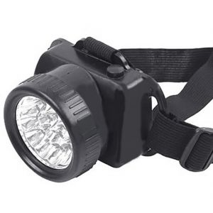 Ultra Bright 9 Big LED Headlamp Headlight Head Lamp Torch Flashlight (code - Jm HD Lp 23)