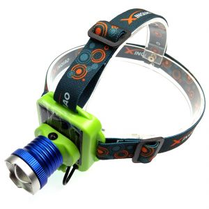 Solar Rechargeable LED Headlamp Headlight Flashlight Head Lamp Light Torch (code - Jm HD Lp 31)