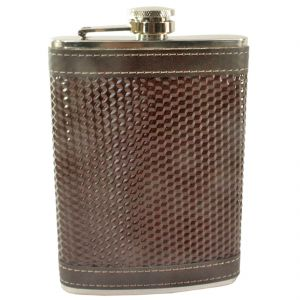 9oz 270ml Pocket Stainless Steel Hip Flask Bottle Liquor Drink Ware (code - HP Fl 19 A)