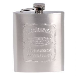 7oz 210ml Pocket Stainless Steel Hip Flask Bottle Liquor Drink Ware (code - HP Fl 88 A)