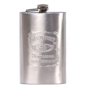 9oz 270ml Pocket Stainless Steel Hip Flask Bottle Liquor Drink Ware (code - HP Fl 89 A)