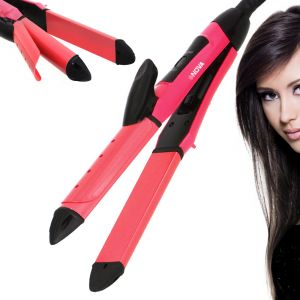 Nova Professional Travel Hair Straighteners Flat Iron 40w (code - Jm Hr St 53)