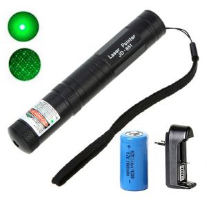 Rechargeable 500 MW Green Laser Pointer Pen Bright 5 Mile Battery Charger (code - Jm Ls Pn 01)